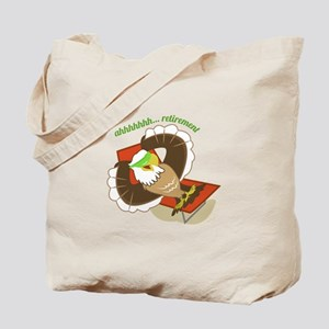 Retirement Eagle Tote Bag