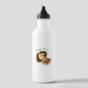 Retirement Eagle Water Bottle