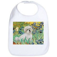 Irises / Coton Bib