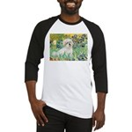 Irises / Coton Baseball Jersey