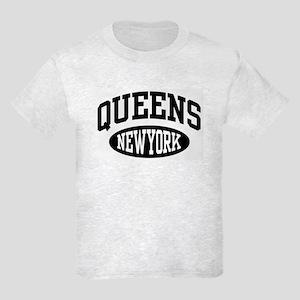 Queens New York Kids Light T-Shirt