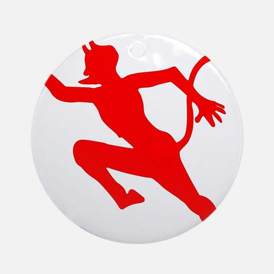 The Running Devil - U-552.png Ornament (Round)