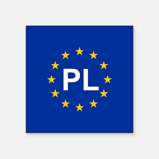 EU Poland Sticker
