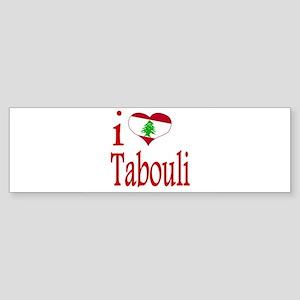 I Love Tabouli Tabuli Bumper Sticker
