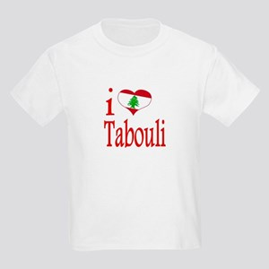 I Love Tabouli Tabuli Kids Light T-Shirt