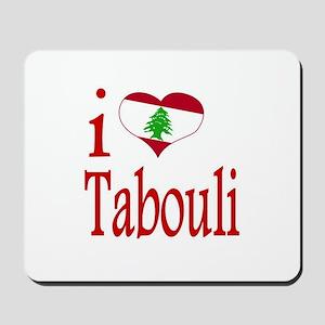 I Love Tabouli Tabuli Mousepad