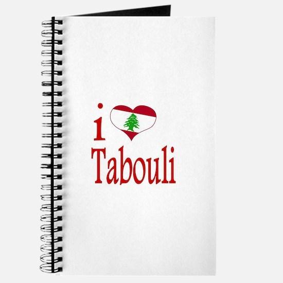 I Love Tabouli Tabuli Journal