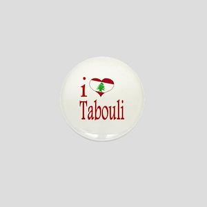 I Love Tabouli Tabuli Mini Button