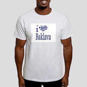 I Love Baklava Light T-Shirt