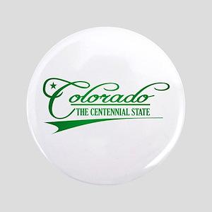 """Colorado State of Mine 3.5"""" Button"""