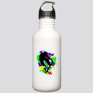 Graffiti Paint Splotch Stainless Water Bottle 1.0L