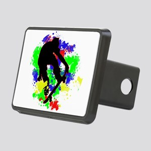 Graffiti Paint Splotches S Rectangular Hitch Cover