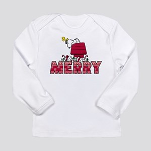 Snoopy Merry Long Sleeve Infant T-Shirt