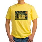 Starry / Coton Pair Yellow T-Shirt