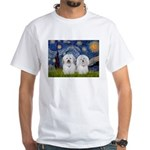 Starry / Coton Pair White T-Shirt