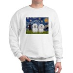 Starry / Coton Pair Sweatshirt