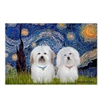 Starry / Coton Pair Postcards (Package of 8)
