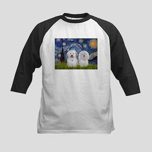 Starry / Coton Pair Kids Baseball Jersey