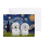Starry / Coton Pair Greeting Cards (Pk of 10)