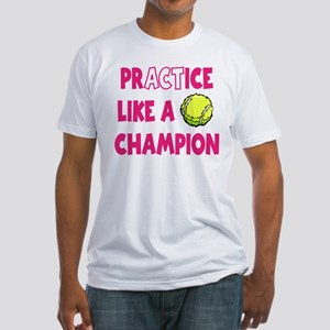 PRACTICE TENNIS Fitted T-Shirt