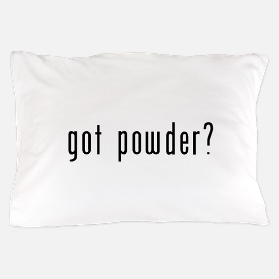 got powder black.psd Pillow Case