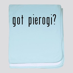 got pierogi black baby blanket