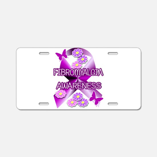 FIBROMYALGIA Aluminum License Plate