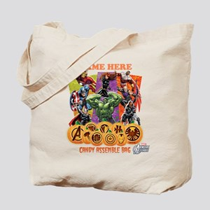 Personalized Halloween Avengers Tote Bag