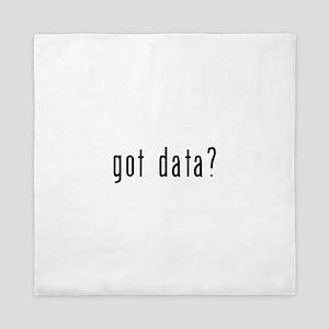 got data black Queen Duvet