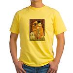 The Kiss / Coton Yellow T-Shirt