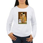 The Kiss / Coton Women's Long Sleeve T-Shirt