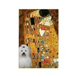 The Kiss / Coton Rectangle Magnet (10 pack)