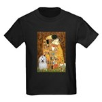 The Kiss / Coton Kids Dark T-Shirt