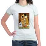 The Kiss / Coton Jr. Ringer T-Shirt