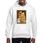 The Kiss / Coton Hooded Sweatshirt
