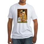 The Kiss / Coton Fitted T-Shirt