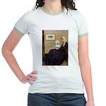 Mom's Coton Jr. Ringer T-Shirt