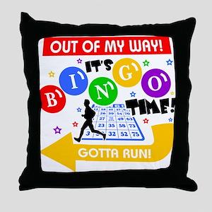 BINGO TIME! Throw Pillow