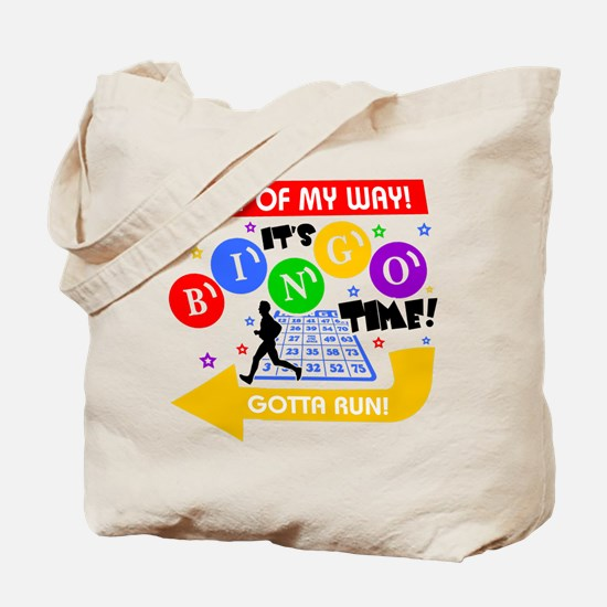 BINGO TIME! Tote Bag