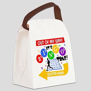 BINGO TIME! Canvas Lunch Bag
