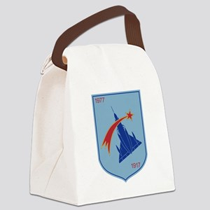 Belgium Air Force BAF Patch 2 Fig Canvas Lunch Bag