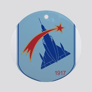 Belgium Air Force BAF Patch 2 Fig Ornament (Round)