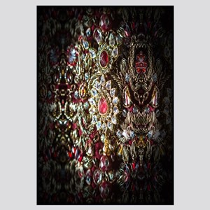 Indian Diamond And Ruby Necklace Wall Art