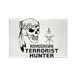 Terrorist Hunter Rectangle Magnet (10 pack)
