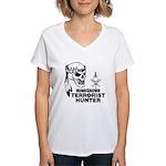 Terrorist Hunter Women's V-Neck T-Shirt
