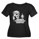 Terrorist Hunter Women's Plus Size Scoop Neck Dark