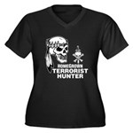 Terrorist Hunter Women's Plus Size V-Neck Dark T-S