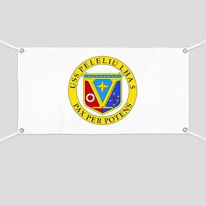 US Navy USS Peleliu LHA 5 Banner