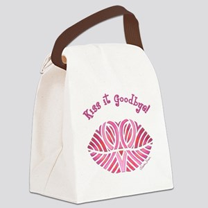 Kiss it Goodbye! Canvas Lunch Bag