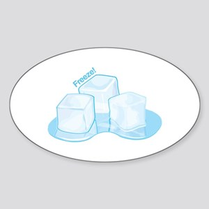 Freeze Ice Sticker